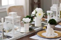 Creating a Rustic and Simple Table Setting | My Thrifty House