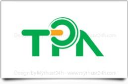 Thiết kế logo Cty CP Tự động hóa Tân Phát
