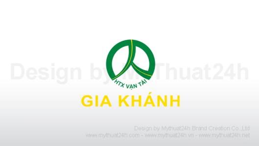 Thiết kế logo Vận tải Gia Khánh