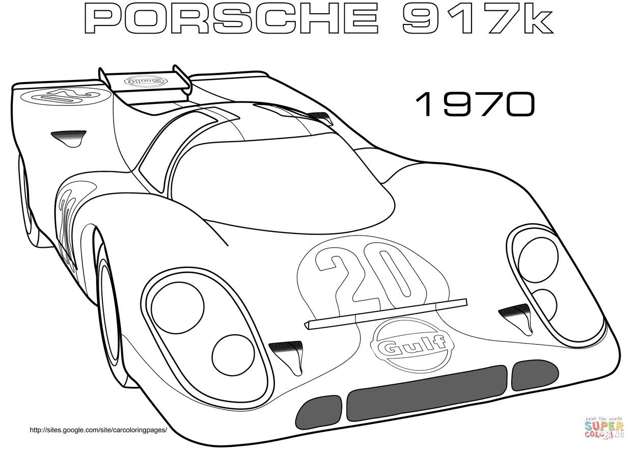 Top 20 Ausmalbilder Autos Porsche - Beste Wohnkultur