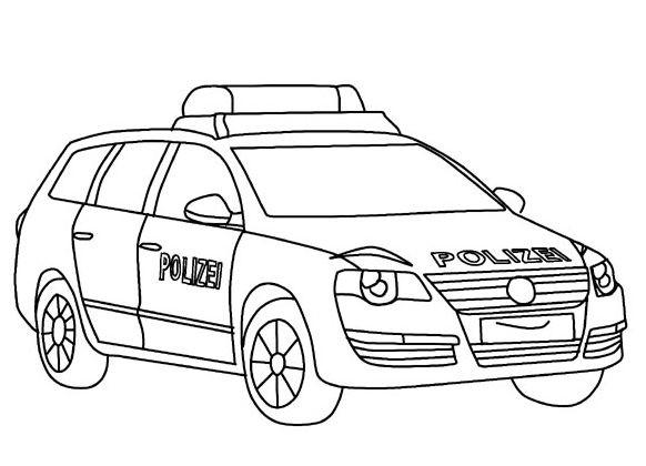 20 Besten Ausmalbilder Polizeiauto - Beste Wohnkultur