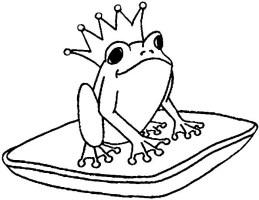 Die Besten Froschkönig Ausmalbilder   Beste Wohnkultur ...