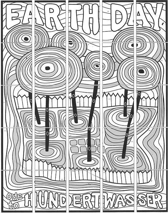 Top 20 Hundertwasser Ausmalbilder - Beste Wohnkultur