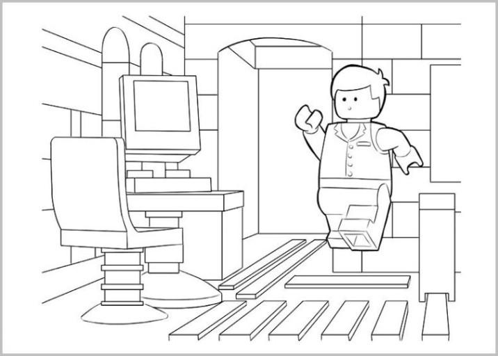 Die 20 Besten Ideen Für Lego Movie Ausmalbilder - Beste