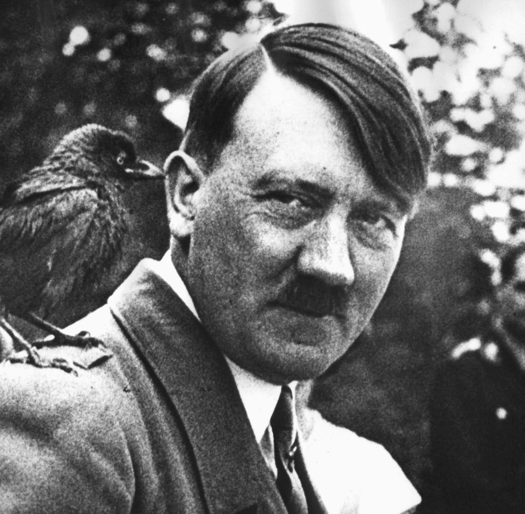 Nazi Frisur Mann