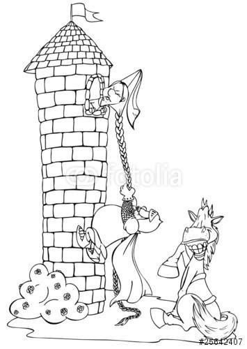 Malvorlage Turm
