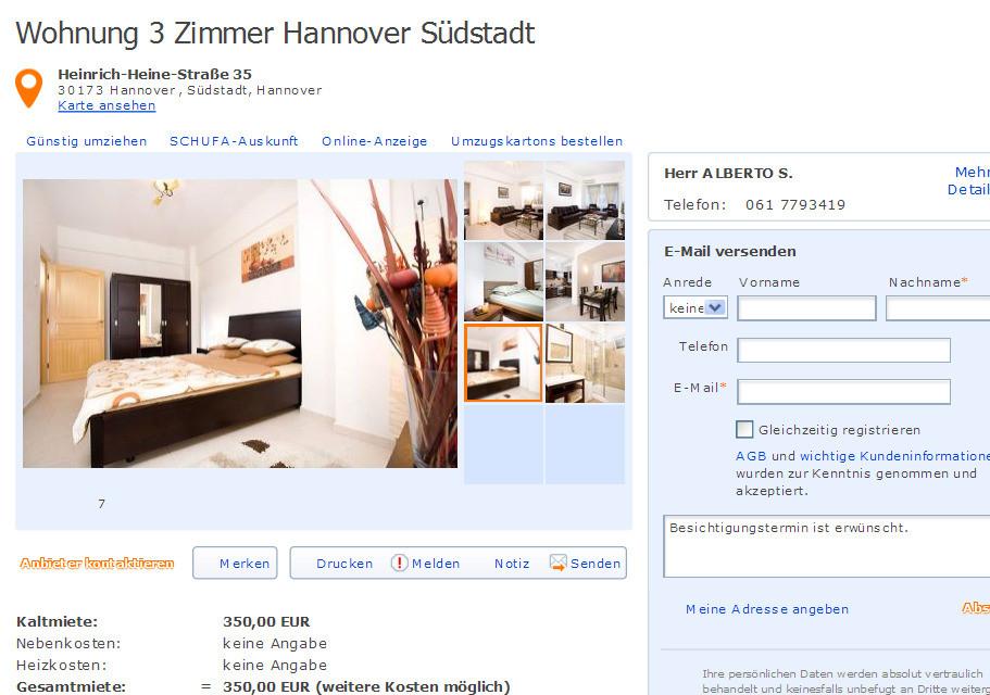Die Besten 3 Zimmer Wohnung Hannover  Beste Wohnkultur Bastelideen Coloring und Frisur