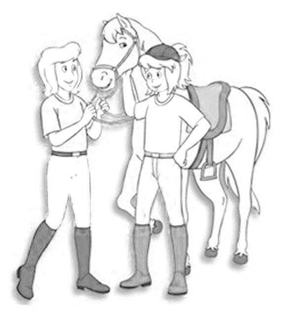 Die 20 Besten Ideen Für Ausmalbilder Bibi Und Tina Pferde