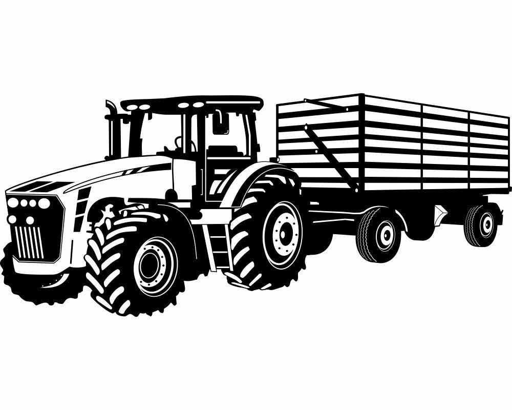 Ausmalbilder Traktor Deutz - Kostenlos zum Ausdrucken