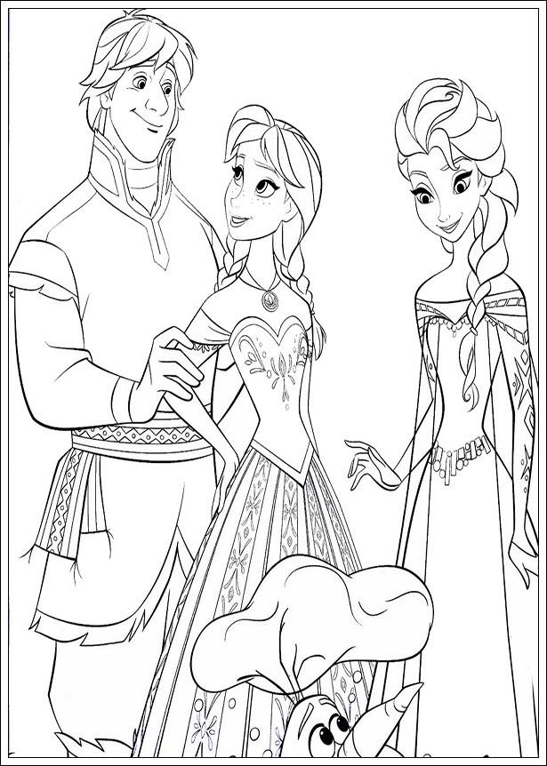 20 Ideen Für Disney Malvorlagen Eiskönigin - Beste