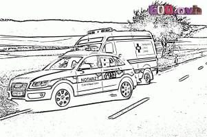 Die Besten Ideen Für Krankenwagen Ausmalbilder   Beste ...