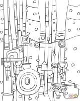 Beste 20 Malvorlagen Hundertwasser   Beste Wohnkultur ...