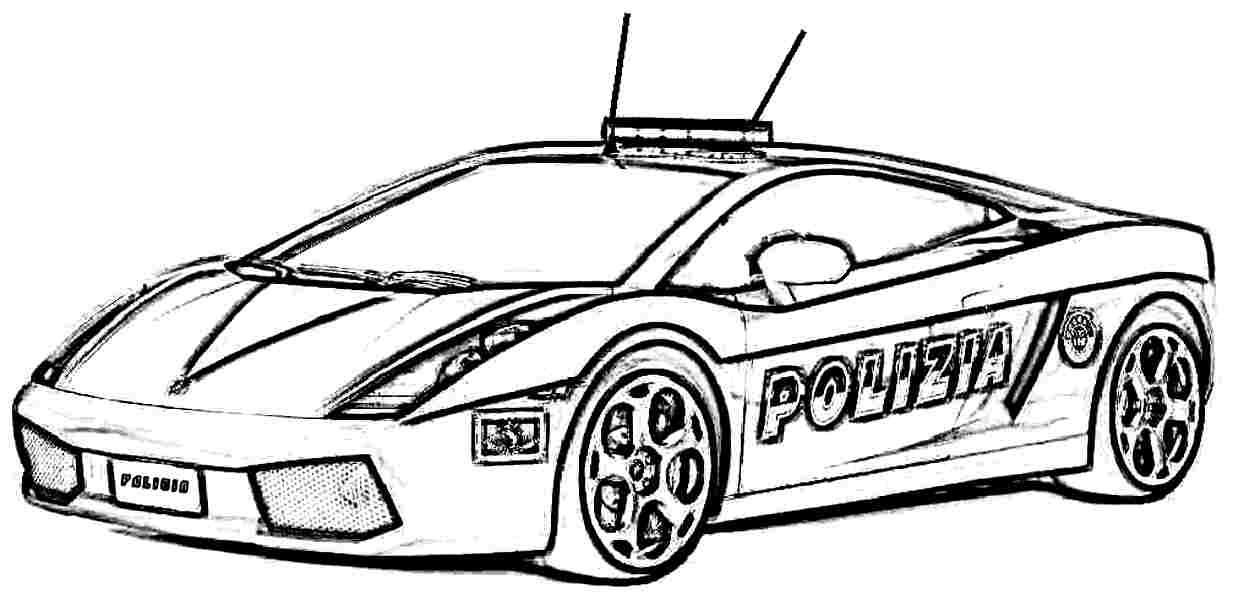 Beste 20 Polizeiauto Ausmalbilder - Beste Wohnkultur