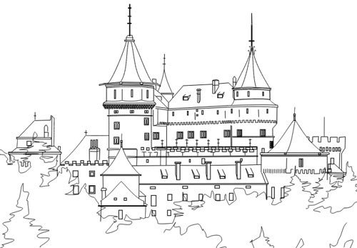 Top 20 Schloss Ausmalbilder - Beste Wohnkultur