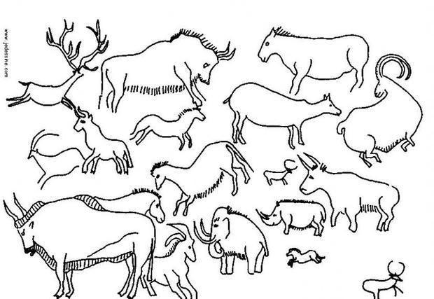Top 20 Höhlenmalerei Malvorlagen - Beste Wohnkultur