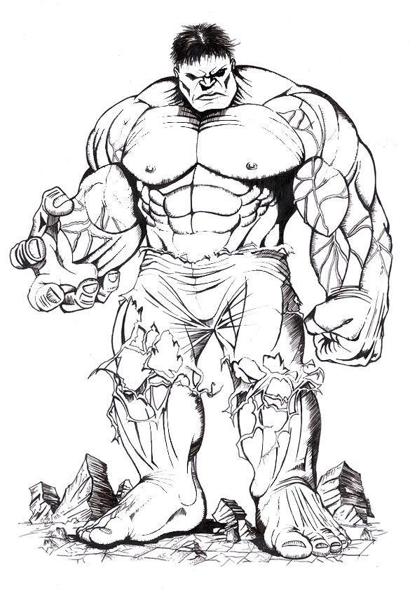 20 Besten Ideen Hulk Ausmalbilder - Beste Wohnkultur