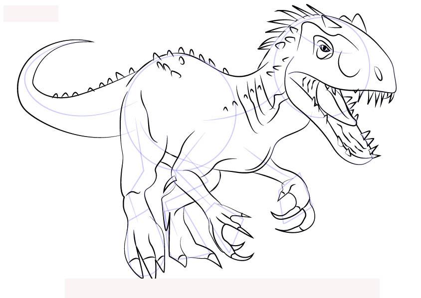Beste 20 Malvorlagen Dinosaurier T-rex - Beste Wohnkultur