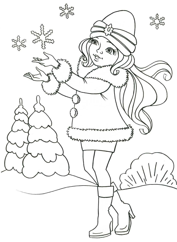 Die Besten Ideen Für Malvorlagen Schneeflocken - Beste