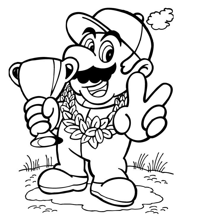 20 Der Besten Ideen Für Malvorlagen Super Mario - Beste
