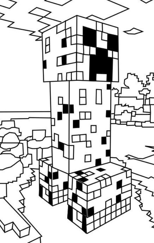 Die 20 Besten Ideen Für Minecraft Malvorlagen - Beste