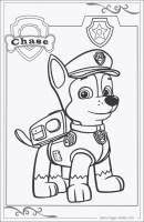 Die Besten Paw Patrol Chase Ausmalbilder   Beste ...