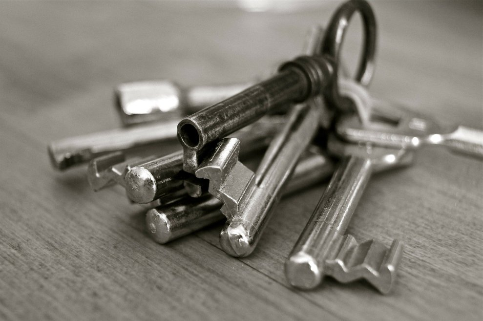 How can keys be acquired?