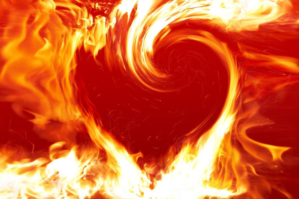 How can passionate energy become extreme?