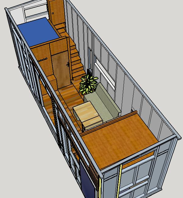 Halbzeit Tiny House Bau