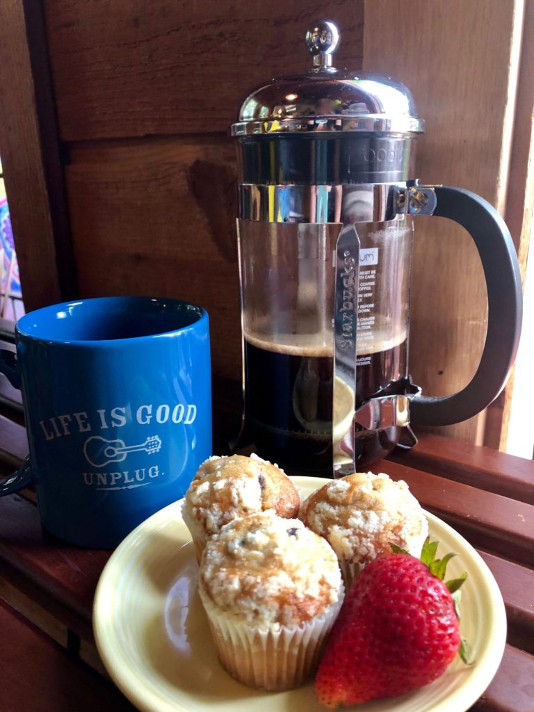 Welcome Back Coffee Press - My Tips and Tea