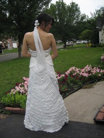 Duct Tape Wedding Dresses