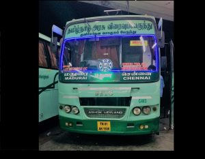 SETC bus timing Chennai To Madurai