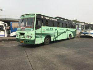 Vellore Trivandrum SETC Bus Schedule 795 UD