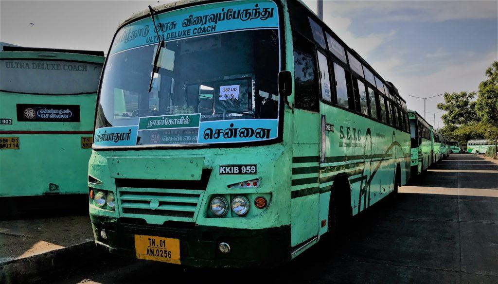Thanjavur To Tirupathi SETC Bus Service 851T via Mayilathadurai Chidambaram