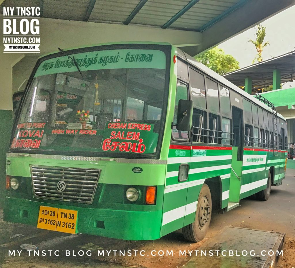 Salem to Kanchipuram TNSTC Bus Timings