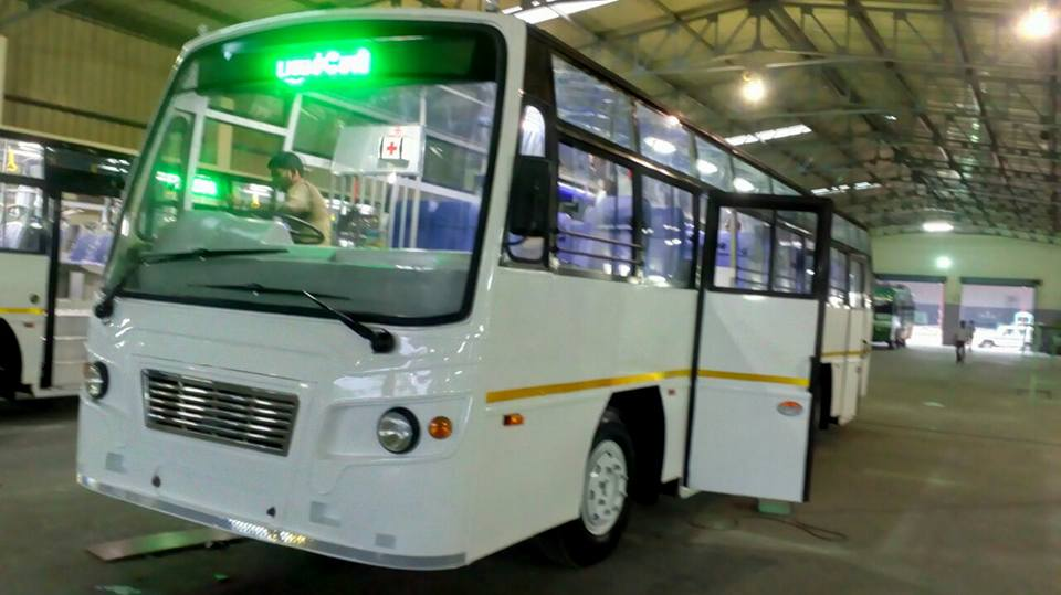 TNSTC New Buses 2017