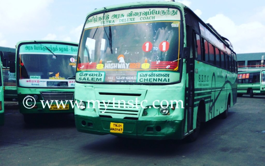 Chennai to Iluppur SETC Bus Timing
