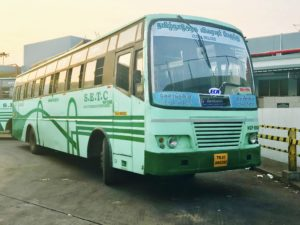 SETC Bus Timings From Thoothukudi to Guruvayur