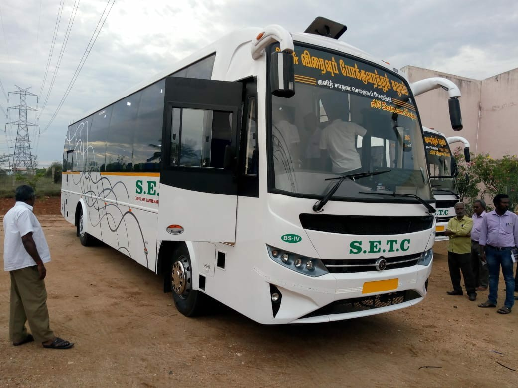 SETC AC Sleeper Bus Timings From Coimbatore To Chennai
