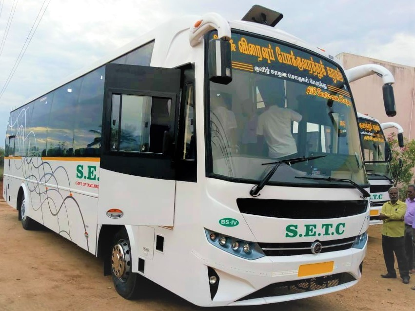 Chennai To Mysore SETC AC Sleeper Bus Service 863 AS Fare 995