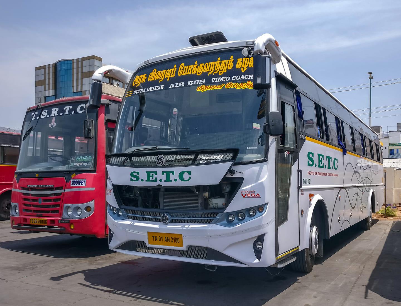 SETC Bus Timings To Tirupathi