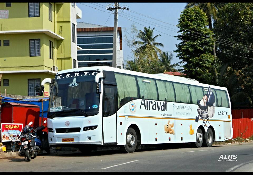 Bangalore To Palakkad KSRTC Airavat Club Class Onam Special Bus Service