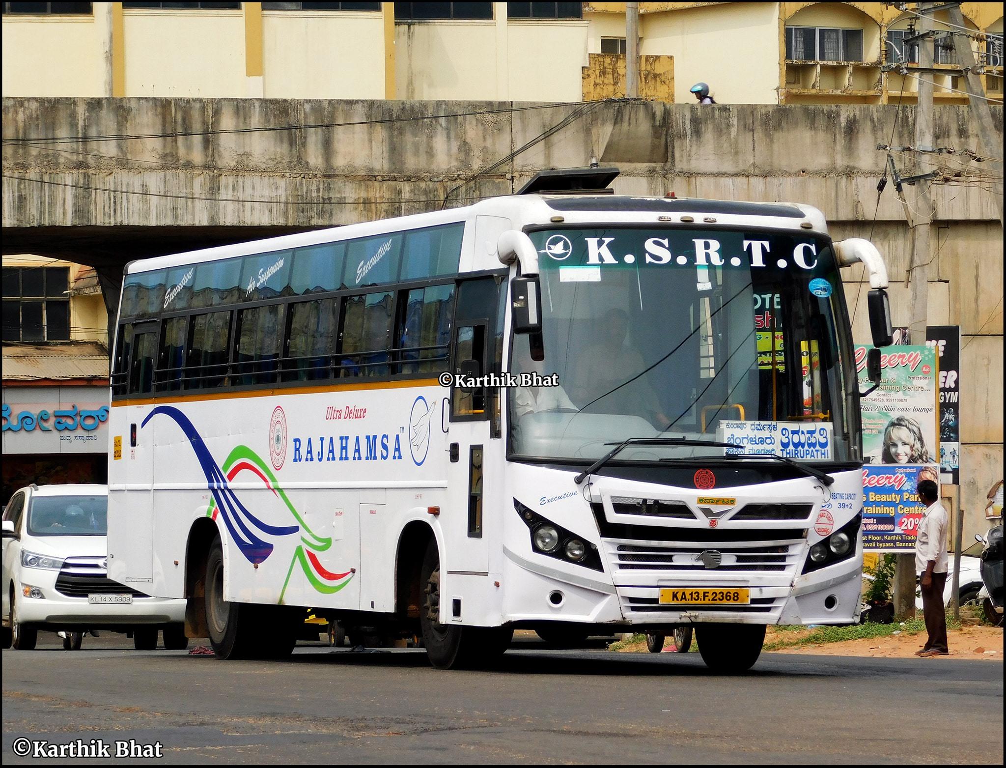 Kannur To Bangalore KSRTC Rajahamsa Executive Onam Special Bus Service