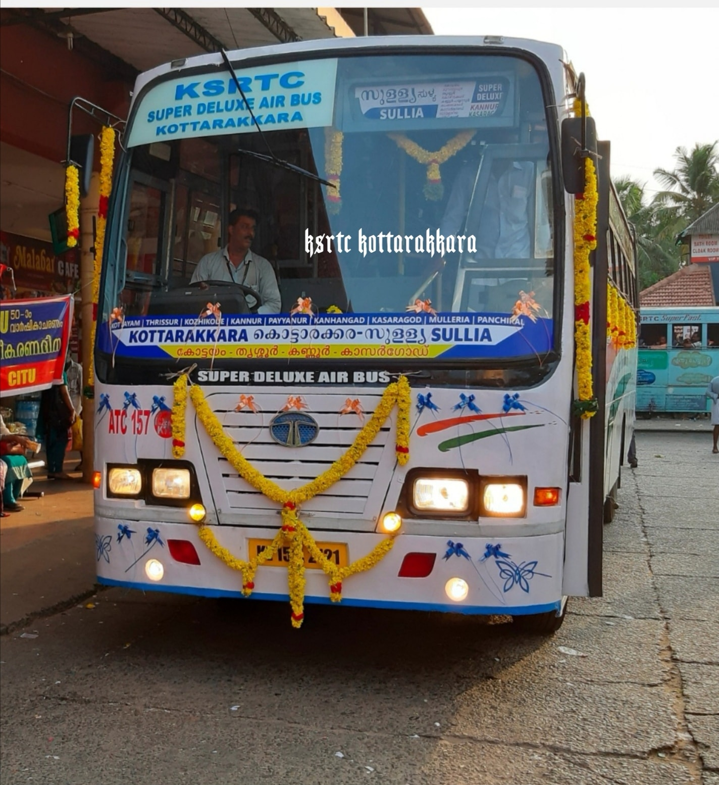 Kannur To Chennai KSRTC Onam COVID19 Special Super Deluxe Service