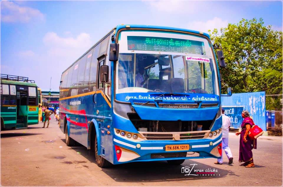 TNSTC EAC AC Bus Service Timings From Trichy to Nagapattinam
