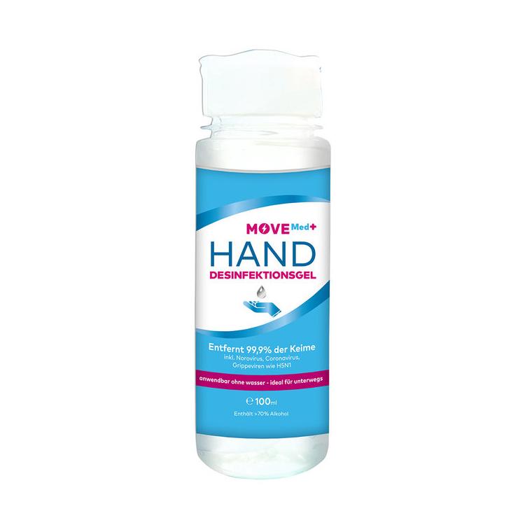 Produktbild von Antivirus Hand-Desinfektionsgel 100ml, 70% Alkohol