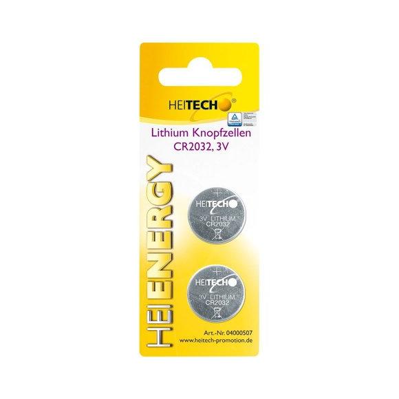 Produktbild von Knopfzellen CR2032 2er Pack
