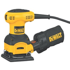 DEWALT 2.4-AMP Orbital 14-Sheet Sander with Cloth Dust Bag reviews