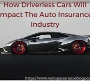 How Driverless Cars Will Impact The Auto Insurance Industry now and in future