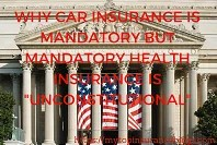 car insurance is mandatory but mandatory health insurance is unconstitutional