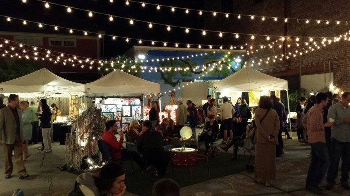 Lounging area at Frenchman Art Market